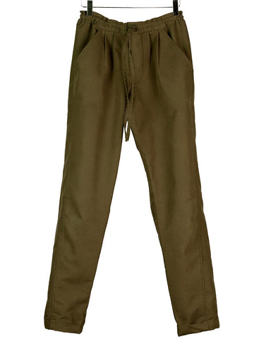Draw-String Canvas Pants