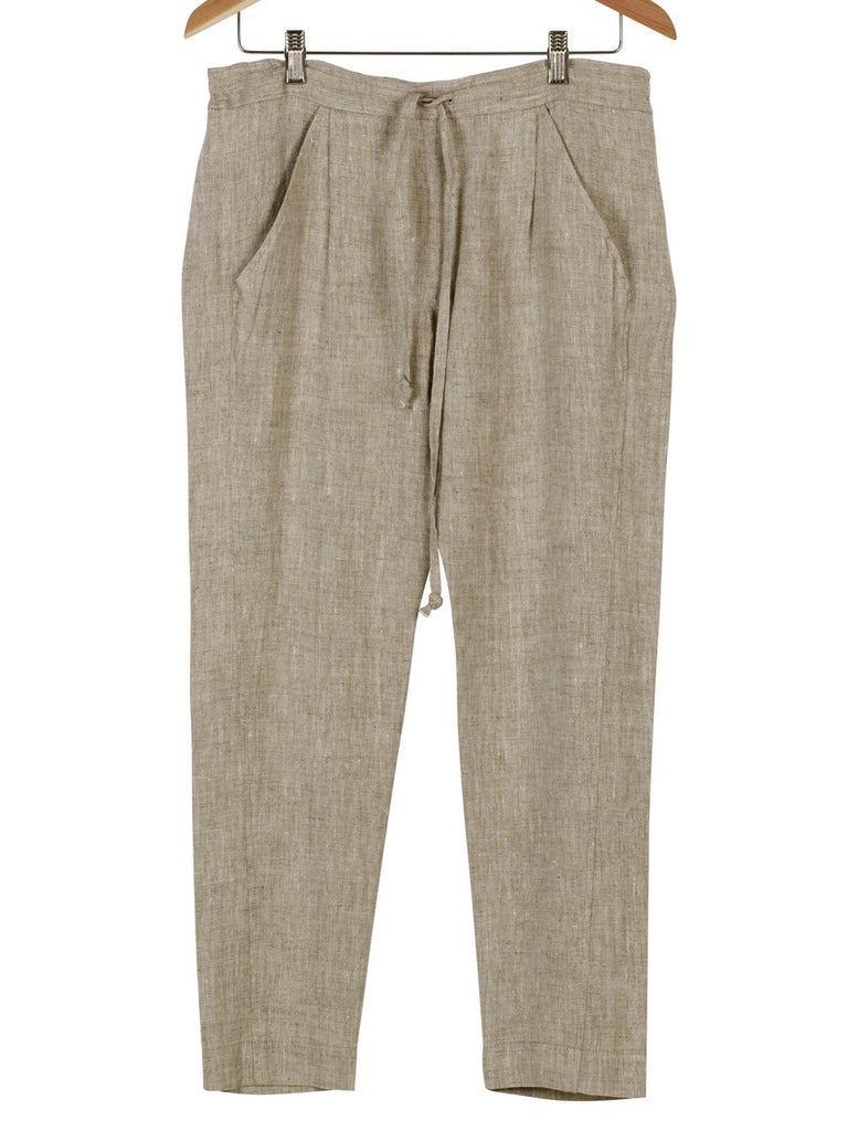 Draw-String Linen Pants, Trousers, Hickman & Bousfield - Hickman & Bousfield, Safari and Travel Clothing