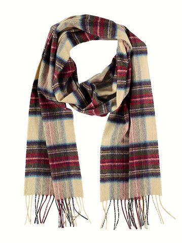 Cashmere Scarf, Hessian Dress Stewart