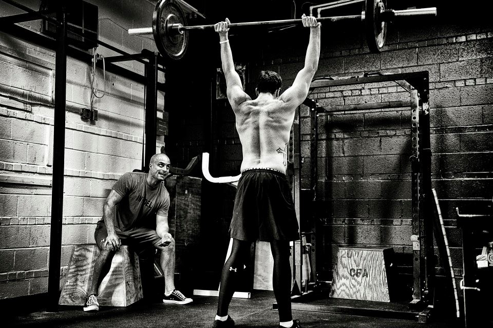 Deportes alternativos gimnasio: crossfit