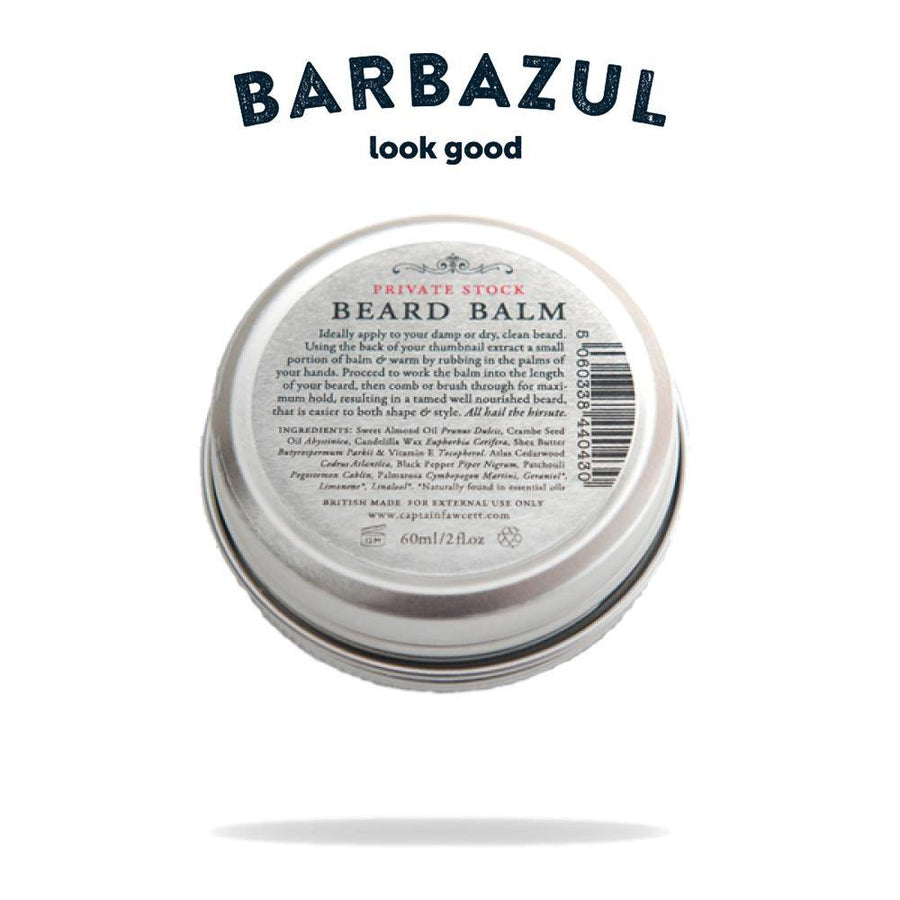 Captain Fawcett - Beard Balm Private Stock - Bálsamo para Barba