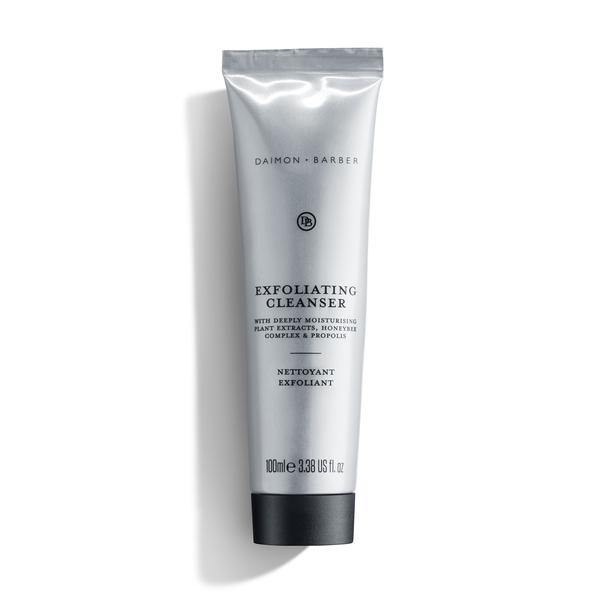 exfoliating cleanser exfoliante facial de Daimon Barber