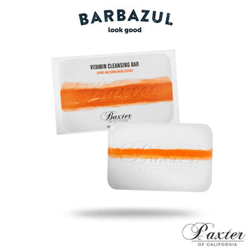 Vitamin Cleansing Bar Citrus & Herbal Musk - Jabón Corporal Tonificante - Barbazul