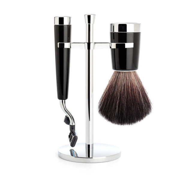 Liscio Shaving Set Black - Set de Afeitado - Mühle at Barbazul - 1