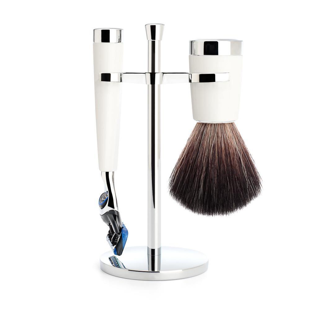 Liscio Shaving Set White - Set de Afeitado - Mühle at Barbazul - 1