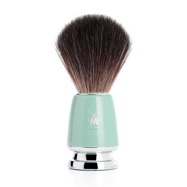 Rytmo Shaving Brush Black Fibre® High Grade Mint Brocha de Afeitado Menta Muhle