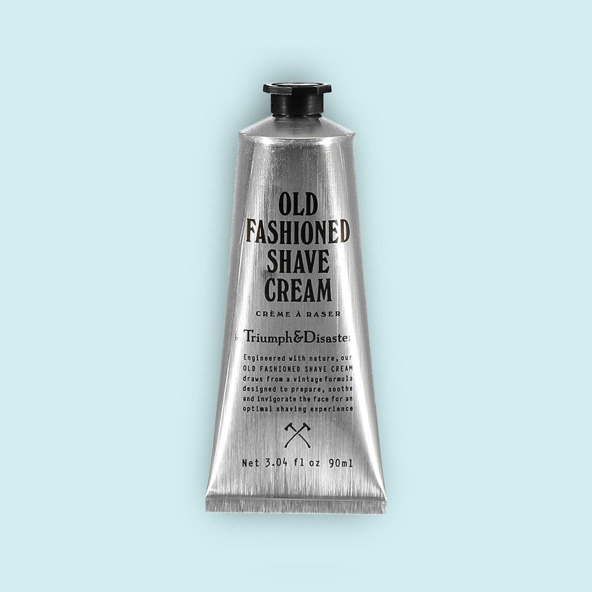 Old Fashioned Shave Cream - Crema de Afeitado - Triumph & Disaster at Barbazul - 1