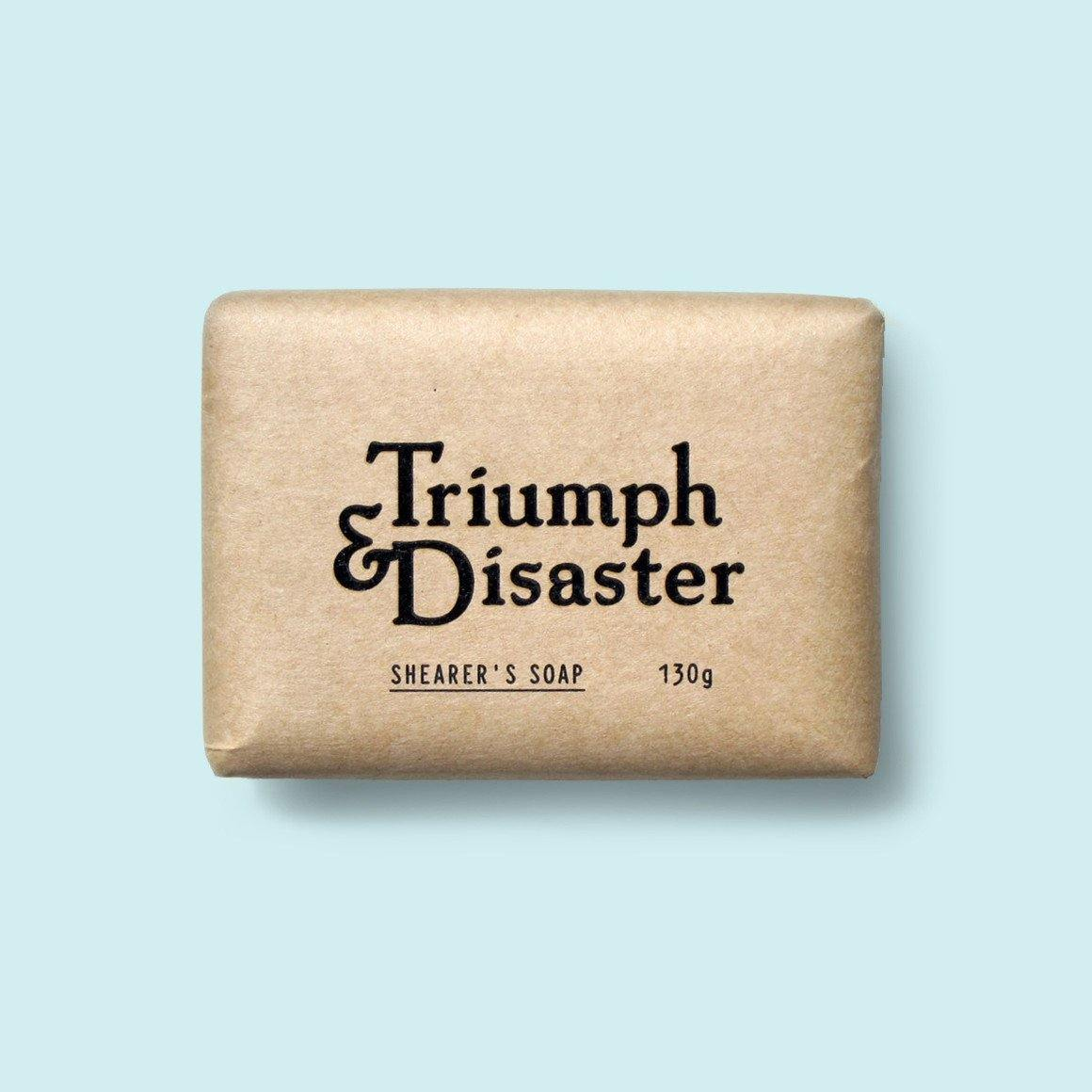 Shearers Soap - Exfoliante Corporal - Triumph & Disaster at Barbazul - 1