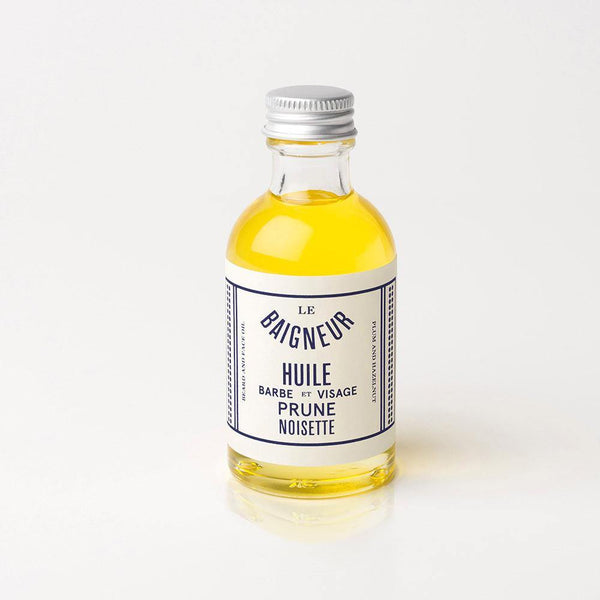 Plum & Hazelnut Oil - Aceite de Barba y Cara - Le Baigneur at Barbazul - 1