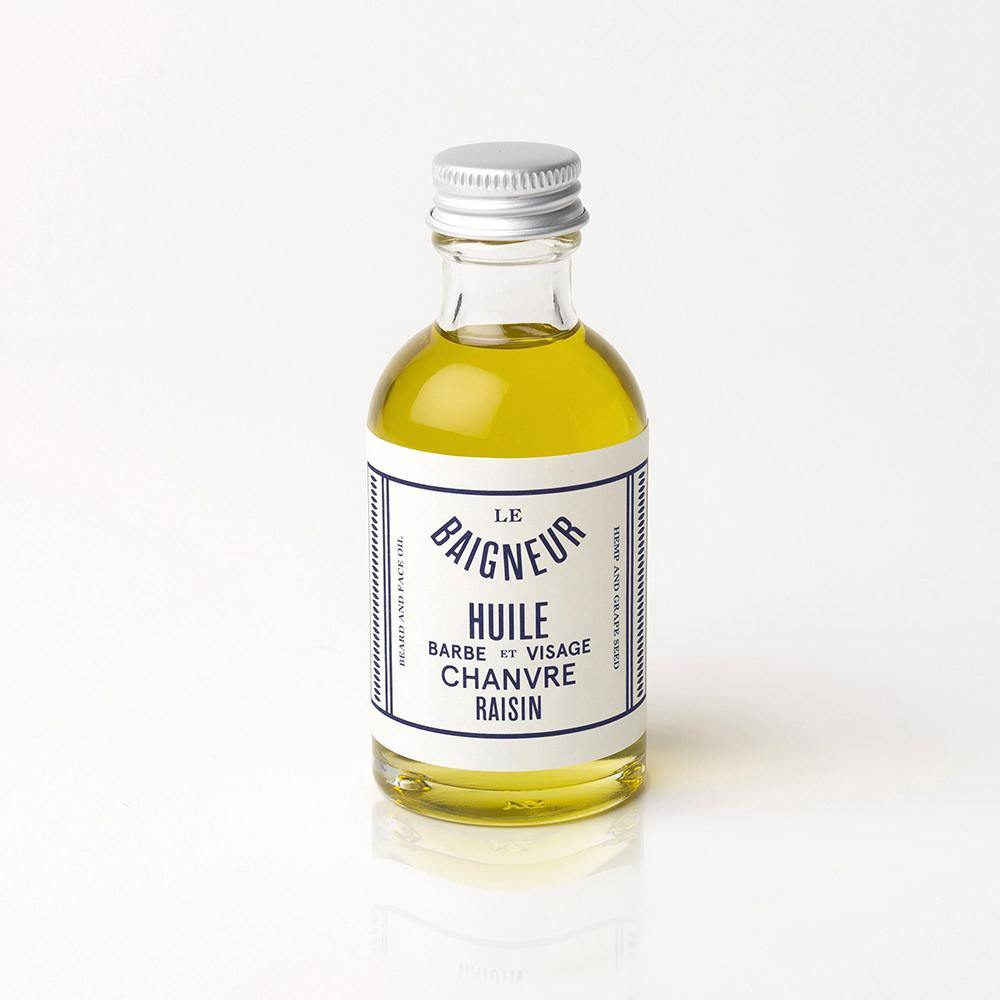 Hemp & Grape Seeds Oil - Aceite de Barba y Cara - Le Baigneur at Barbazul - 1