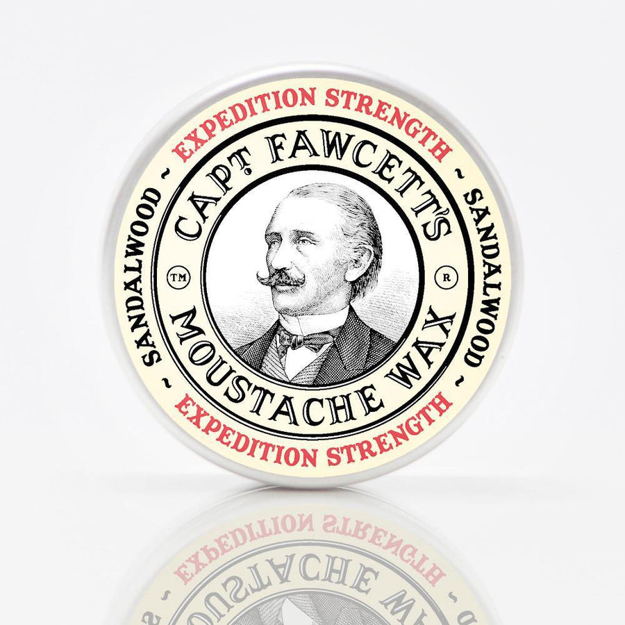 Moustache Wax Expedition - Cera de Moldeado para Bigote - Captain Fawcett at Barbazul - 2