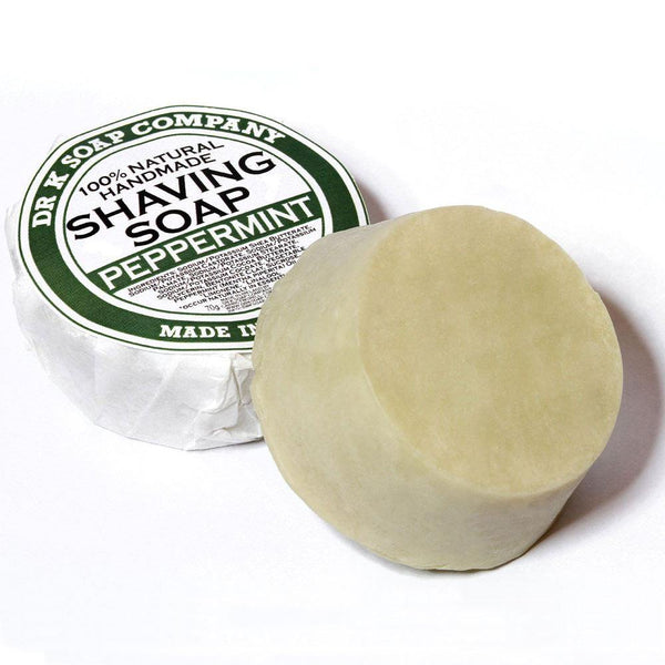 Peppermint Shaving Soap - Jabón de Afeitado a la Menta - Dr K Soap Company at Barbazul - 1