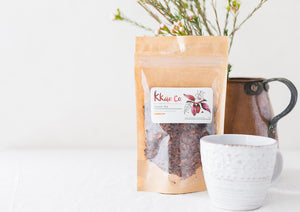 The 4 fundamentals of kkao Co. Cacao Tea