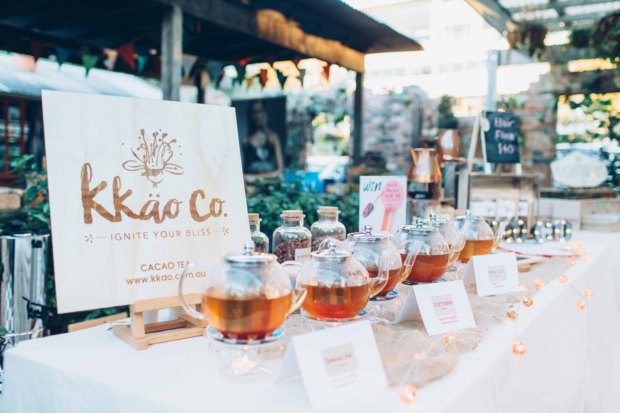 kkao Co. Launches @ the GoodnessMe Box Dessert Wholefood Night Markets