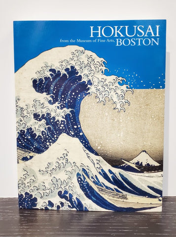 HOKUSAI from the museum of Fine Arts, BOSTON