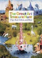 The Great Art Treasure Hunt I Spy Red, Yellow, and Blue
