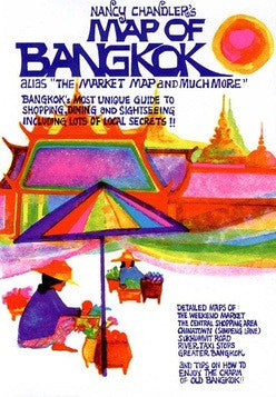 Nancy Chandler's Map of Bangkok, 27th Edition