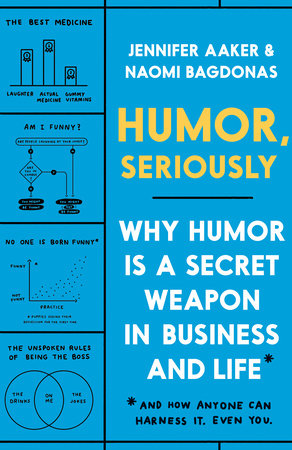Humor, Seriously: Why Humor Is a Secret Weapon in Business and Life by Jennifer Aaker and Naomi Bagdonas
