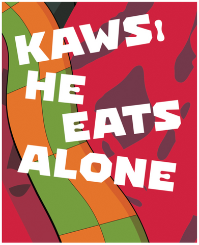 Kaws: He Eats Alone Edited by Germano Celant