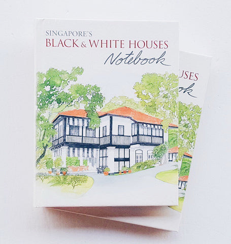 9789814610162 SINGAPORE'S BLACK& WHITE HOUSES NOTEBOOK (DIDIER MILLET)