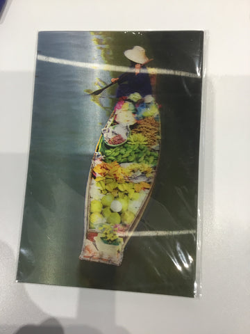 8858045007490 3D CARD A LIFE: THAI FLOATING MARKET (ASIA BOOKS)