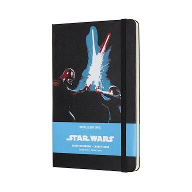 MK202 8058341713488 MOLESKINE LIMITED EDITION NOTEBOOK STAR WARS LARGE RULED LIGHTSABER DUEL (MOlESKINE)