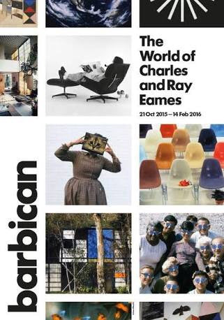 The world of Charles and ray eames 9780847847655 (barbican)