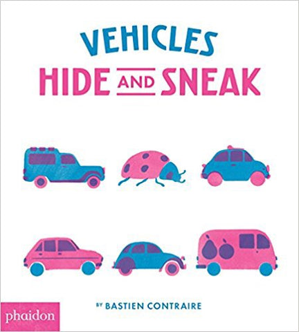 9780714875163 Vehicles Hide and Sneak (PHAIDON)