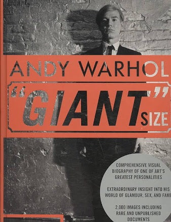 "Andy Warhol ""Giant"" Size, Large Format (Phaidon)"