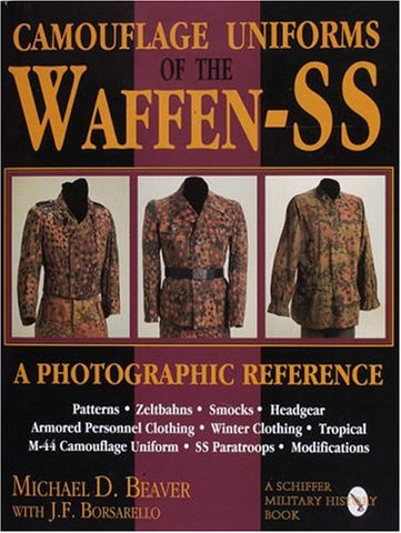 9780887408038: Camouflage uniforms of the Waffen-SS (schiffer military history)