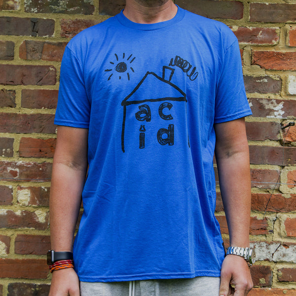 Acid House_tee Neon Blue [IN+OUT]