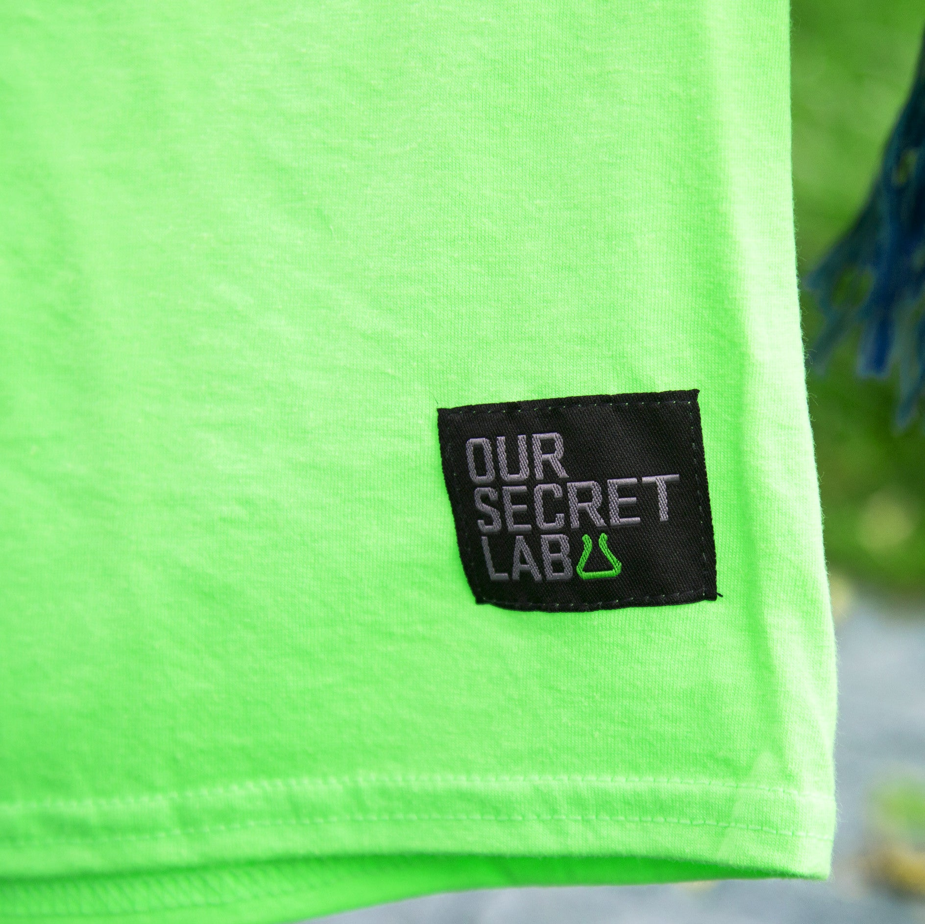 Acid House_tee Neon Green [IN+OUT]
