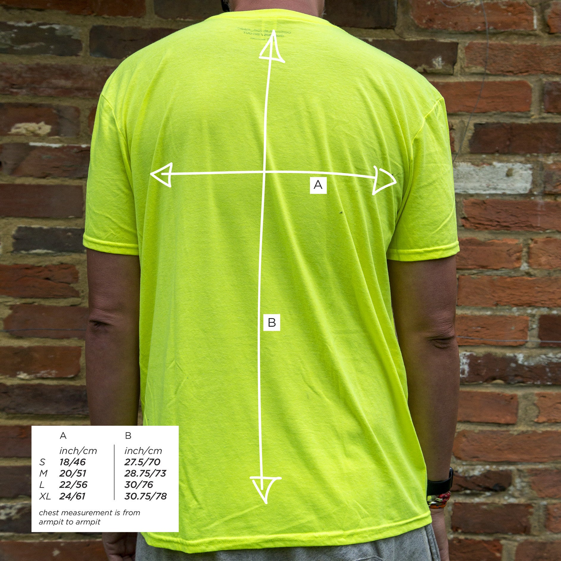 Acid House_tee Neon Yellow [IN+OUT]