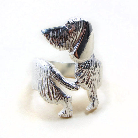 Wirehaired Dachshund Ring