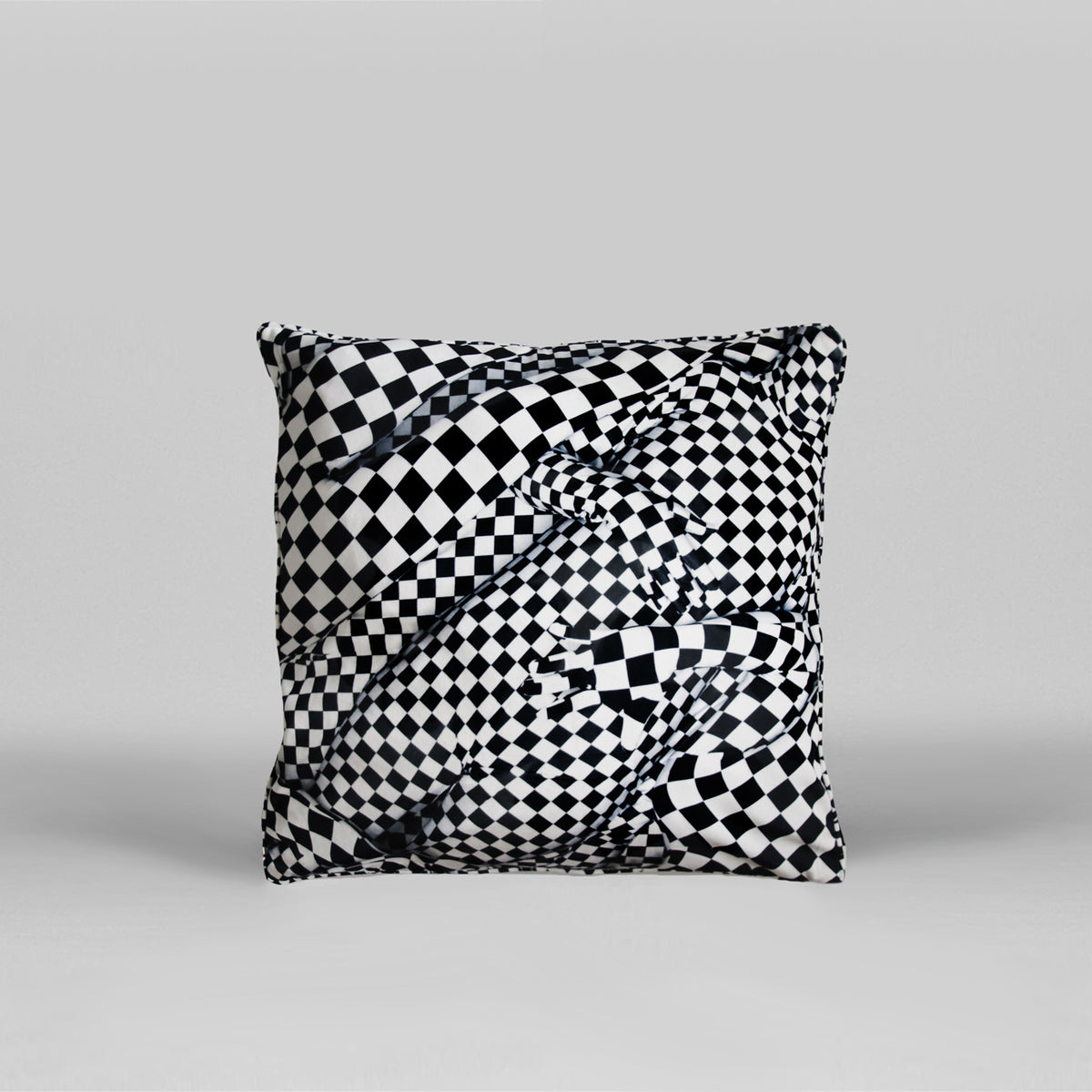 OLAF BREUNING<br>BLACK AND WHITE PEOPLE PATTERN, 2019, (ART93)