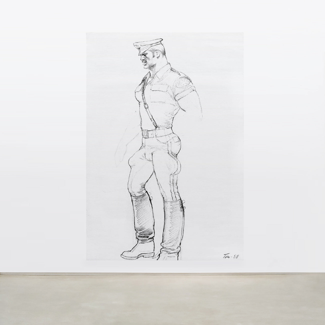 TOM OF FINLAND, UNTITLED, 1988 (0606)