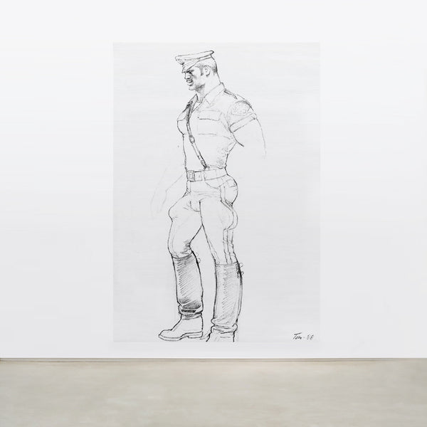 TOM OF FINLAND<br>Untitled, 1988 (0606)