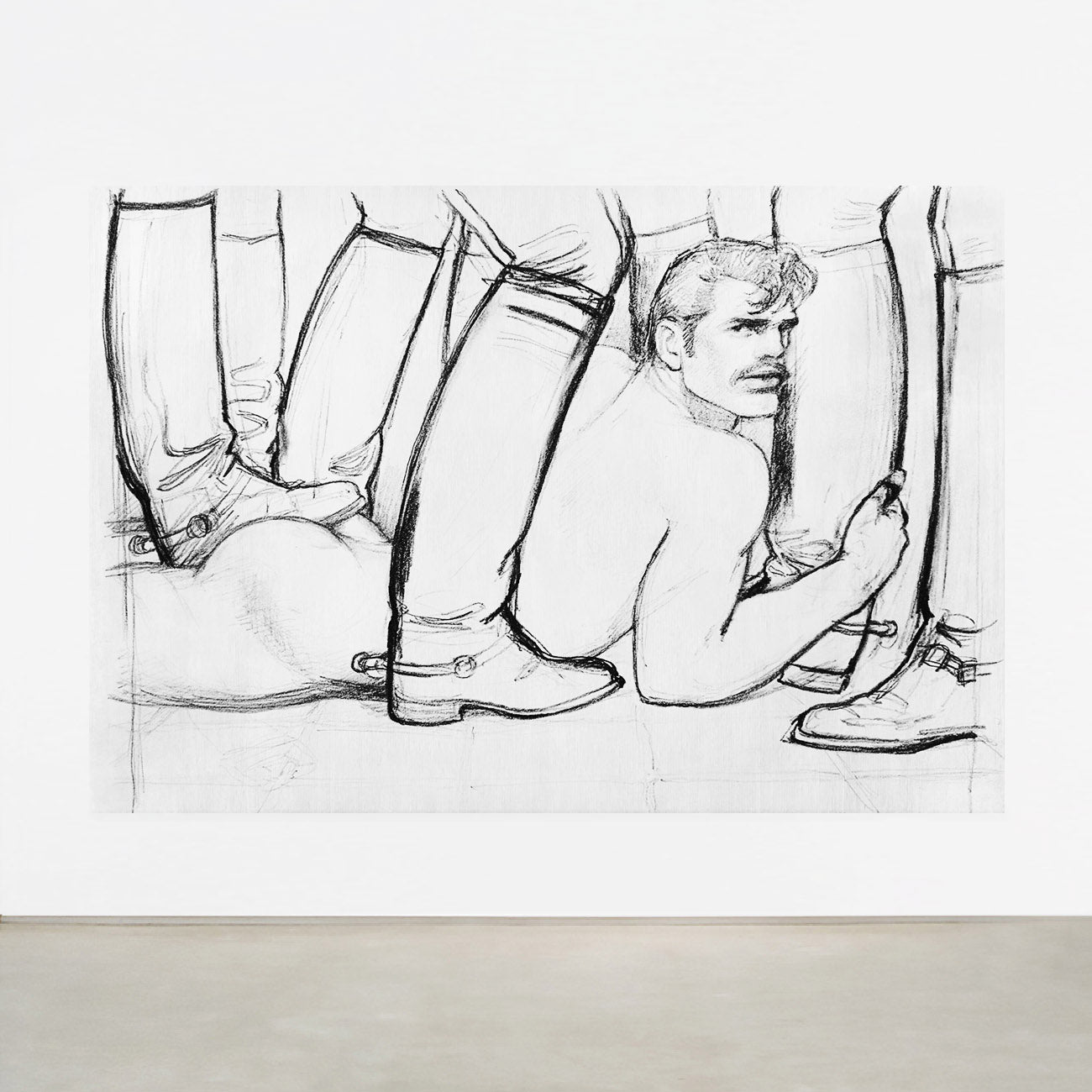 TOM OF FINLAND, UNTITLED, 1982 (0997)