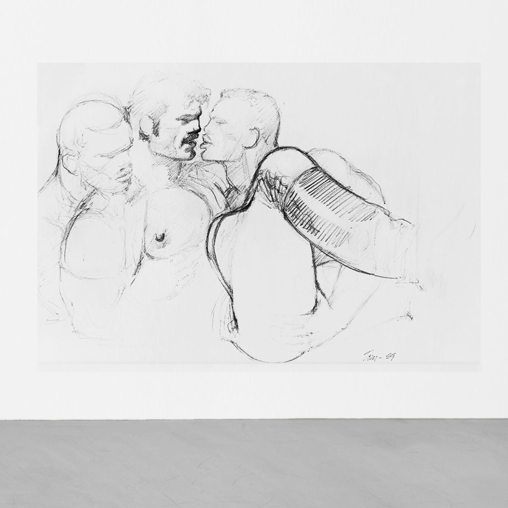 TOM OF FINLAND<br>Untitled, 1989 (0000)