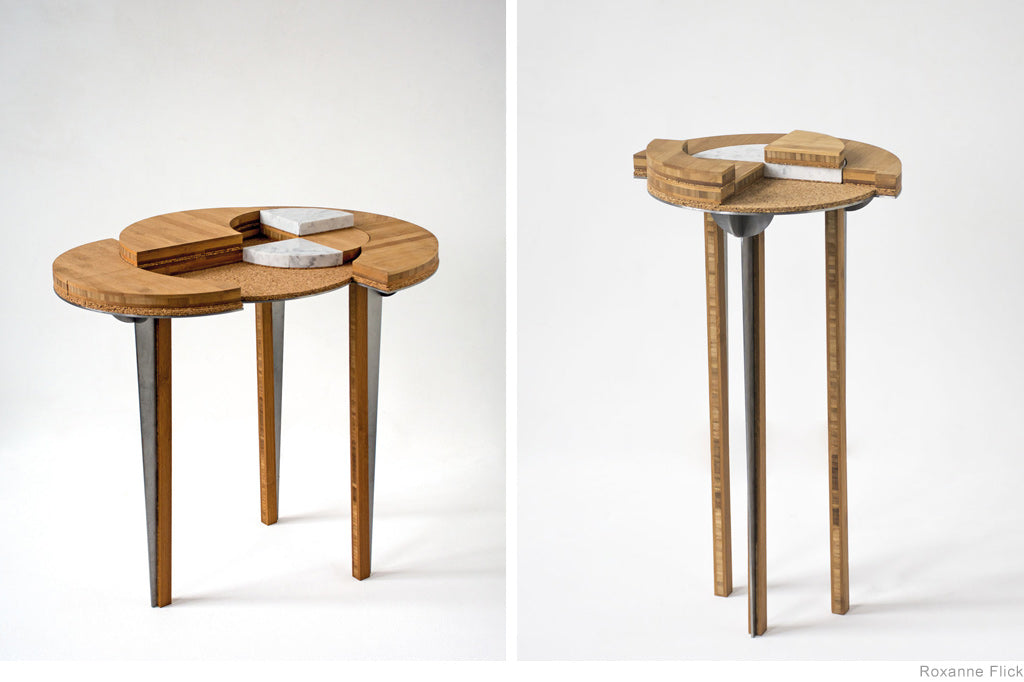 Abstraction Tables by Roxanne Flick