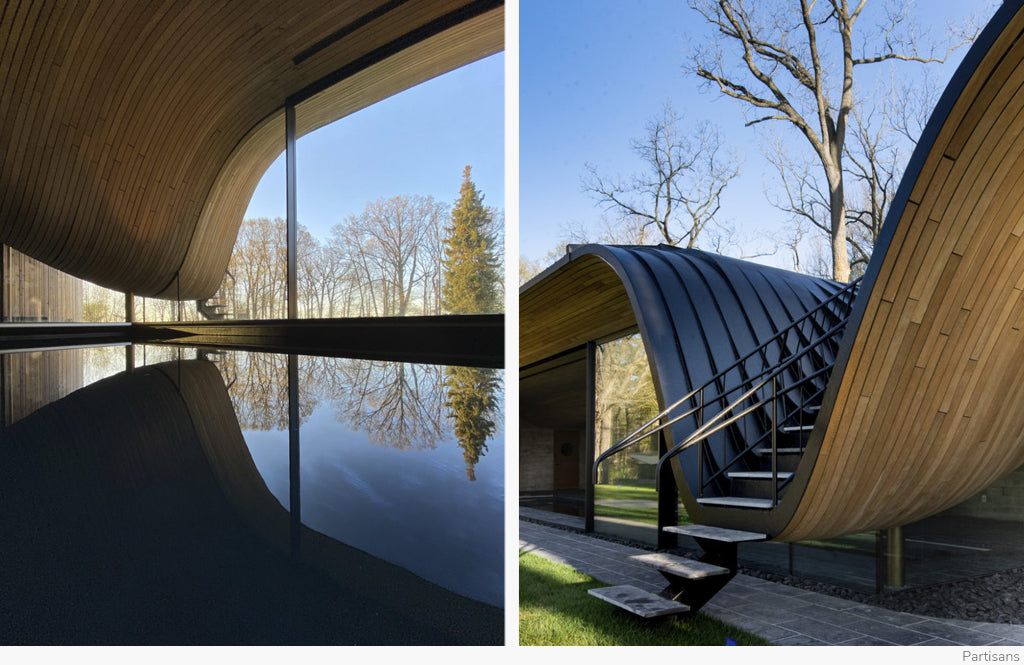 Curvaceous Creations by Partisans Architects