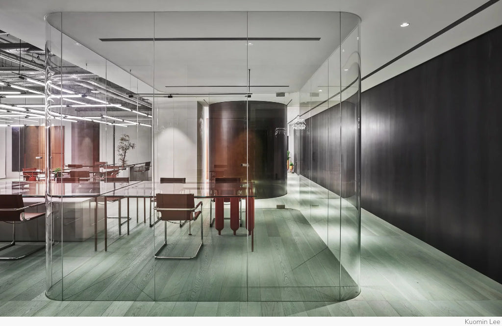 Ideal Gas Lab Office by Waterfrom Design