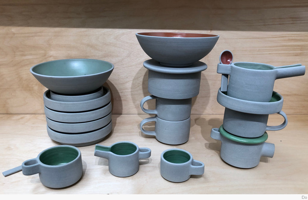 Towering Tableware by Lisa Krigel
