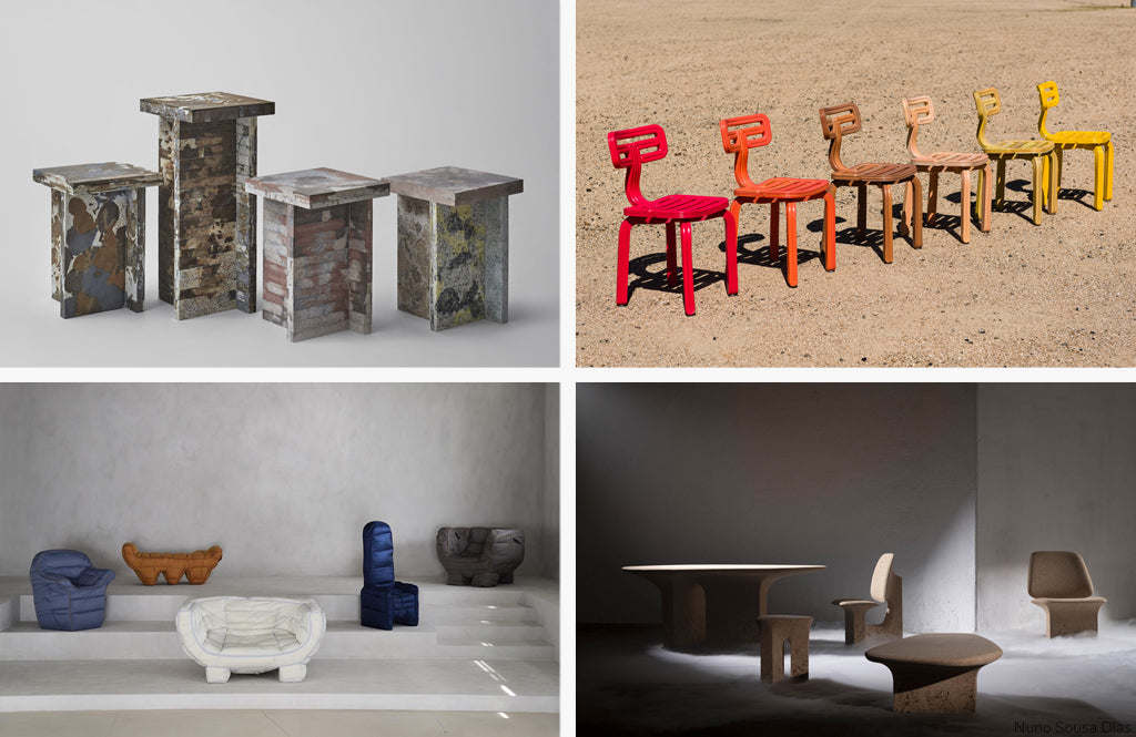 Furniture from Recycled Materials