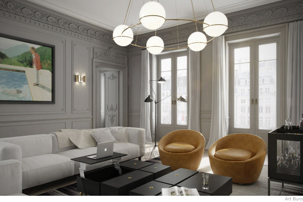 The Art of Apartment Living by Art Buro - Paris