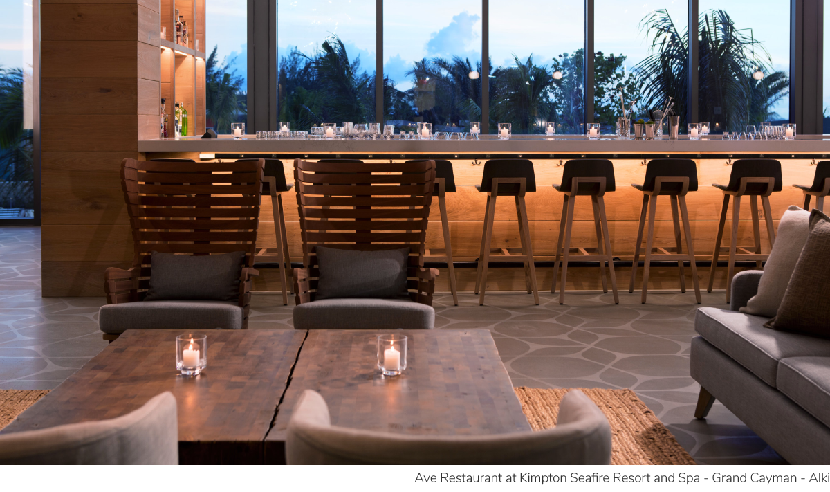 Ave Restaurant at Kimpton Seafire Resort and Spa - Grand Cayman - Alki