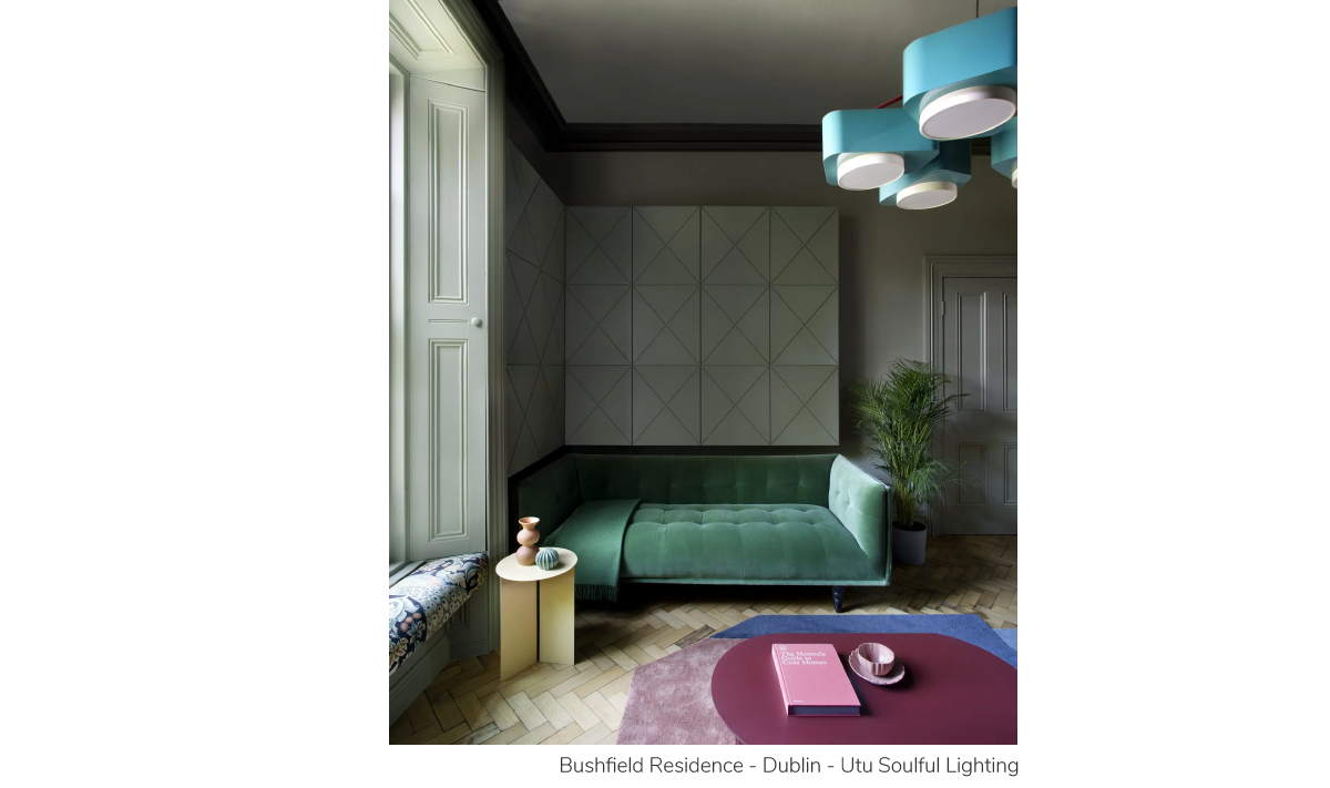 Bushfield Residence - Dublin - Utu Soulful Lighting