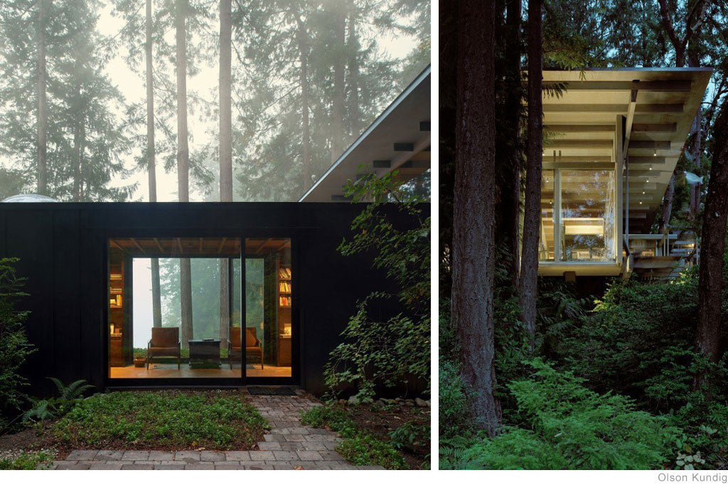 Cabin at Longbranch by Olson Kundig