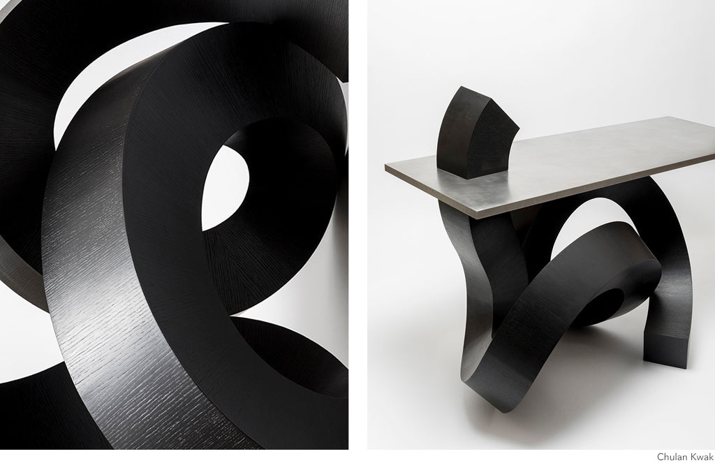Dragon Calligraphy Furniture by Chulan Kwak