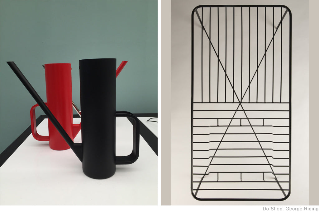 Watering Can and Coffee Table by George Riding